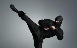 Jeannin le Ninja. L'anagramme n'est pas loin !