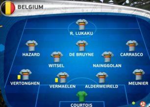 Composition Belge, pas de surprise.